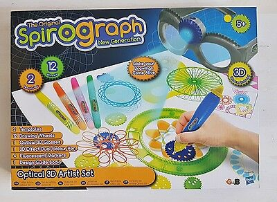 Spirograph New Generation The Original Optical 3D Artist Set