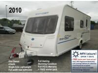 2010 BAILEY RANGER GT60 – 510/4 - ONE OWNER - LIGHT 4 BERTH - AWNING – WARRANTY etc