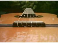 Guitar Tuition – Classical, Acoustic or Electric Lessons with an Experienced Teacher