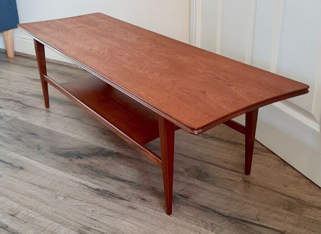 Condition Mid Century Modern Shaped Teak Coffee Table By Richard Hornby For Heals 1960s In Newport Gumtree