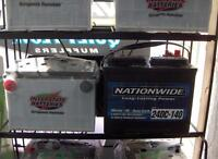 Deep Cycle  Marine Interstate & Nationwide batteries On Sale !