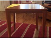 Solid Oak Furniture Village Side Table