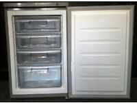 PRESTIGE USED SILVER UNDER COUNTER FREEZER + FREE BH ONLY POSTCODES DELIVERY & 3 MONTHS GUARANTEE