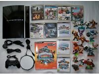 PS3 Playstation 3 80gb with controller, games and skylanders!!!