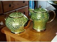 Three Pots. 2 Teapots 1 Coffee pot