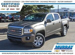 2015 GMC Canyon SLE *4WD *Backup Cam *Sirius XM