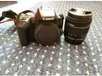 Canon EOS 200d (SL 2) + Lens