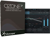Izotope Ozone 7 Advanced plugins