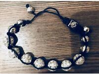 Crystal ball bracelet in presentation box. Unworn, VGC