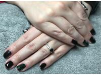 Nails: CND Shellac manicures