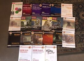 GCSE revision guides 9-1