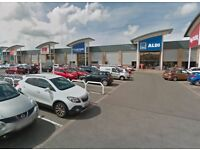 Car Wash Hand Valeting Business For Sale - Busy Shopping Centre Retail Park - Jet Wash Cleaning Site