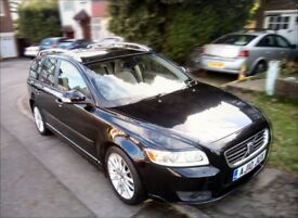 Volvo V50 1.6D SE LUX Drive New MOT New Clutch New DPF Fully loaded with extras. Electric sunroof.