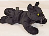 "Collectible Savoy plush ""kasper"" cat"