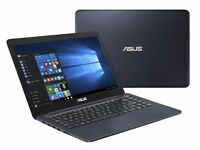 ASUS E402/ INTEL QUAD CORE 2.4 GHz/ 2 GB Ram/ 32 GB EMMC/ HDMI/ WEBCAM/ USB 3.0/ WIN 10