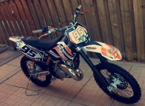 Bondi built 2008 ktm 144sx blow top end 12 hours on bottom end