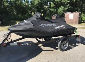 2018 Sea Doo Spark 3 Up 90 HO IBR convenience package