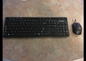 DYNEX wireless mouse and keyboard