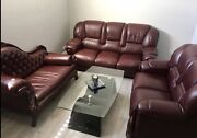 7 seater LEATHER SOFA from Italy Dandenong North Greater Dandenong Preview