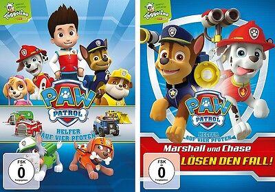 2 DVDs * PAW PATROL - VOLUME 1 + 2 (TOGGOLINO) IM SET # NEU OVP +