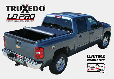 "TruXedo Lo Pro QT Soft Roll-Up Tonneau Cover Chevy Silverado/GMC Sierra 6'7"" Bed"