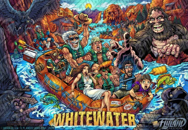 White Water Alternative Translite