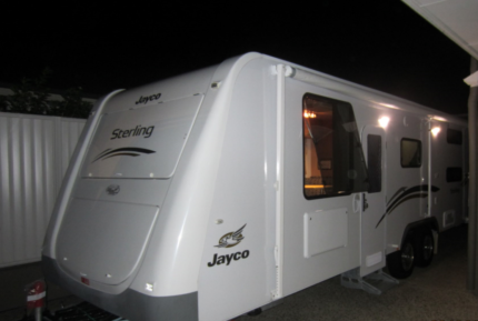 2012-Jayco-Sterling 25.78-4 Family Caravan - Excellant Condition.