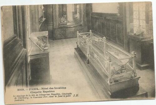 WW1 HOTEL DES INVALIDES CHAPELLE NAPOLDEN RED CROSS PARIS FRANCE POSTCARD