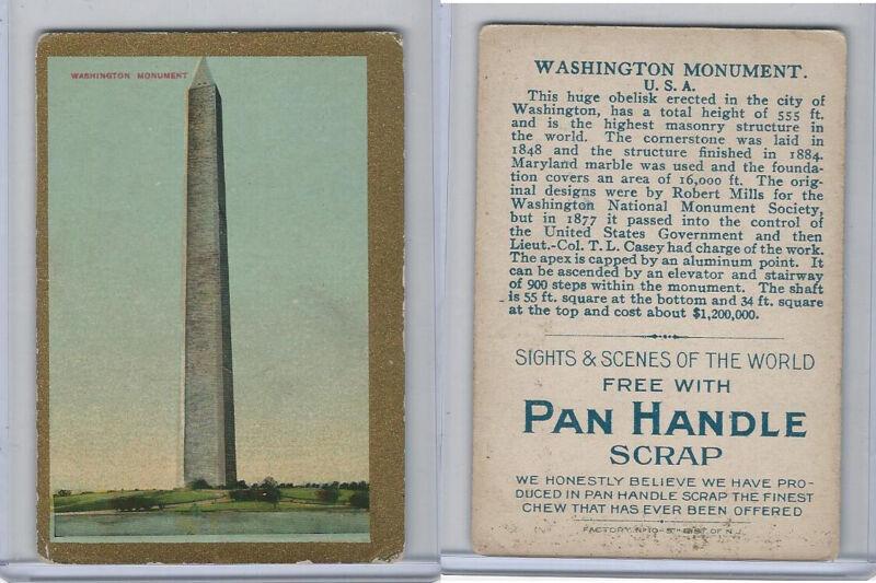 T99 ATC, Sights & Scenes, 1911, Washington Monument