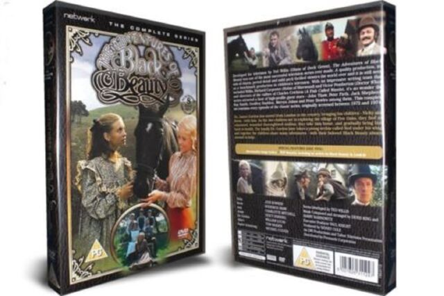 THE ADVENTURES OF BLACK BEAUTY - Complete Series  8-Disc Set  New    Fast   Post