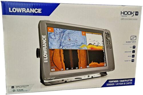 Lowrance Hook2 12 CHIRP GPS Chartplotter Fishfinder & Tripleshot + US Inland Map
