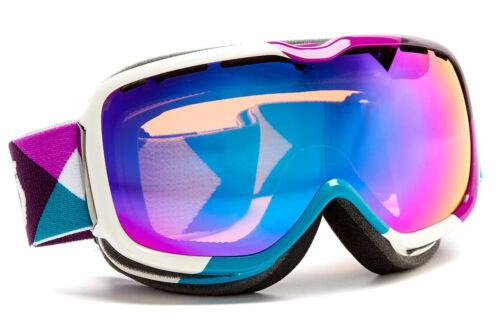 $110 Scott Womens Aura RARE Purple Green Ski Goggles snow smith Winter Teal Lens