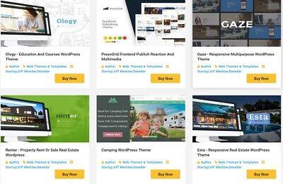 250 Premium Wordpress Themes - Demo Available