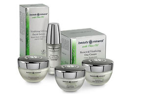 Nature Balance Facial Gift Kit, by Beauty Mineral Dead Sea, All Natural Ingr.