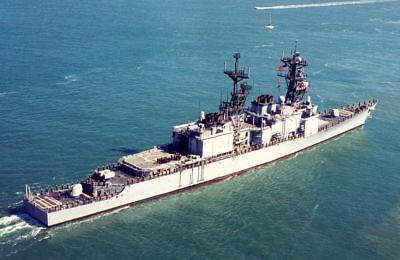 USS DAVID RAY 8X10 PHOTO DD-971 NAVY US USA SPRUANCE CLASS DESTROYER SHIP