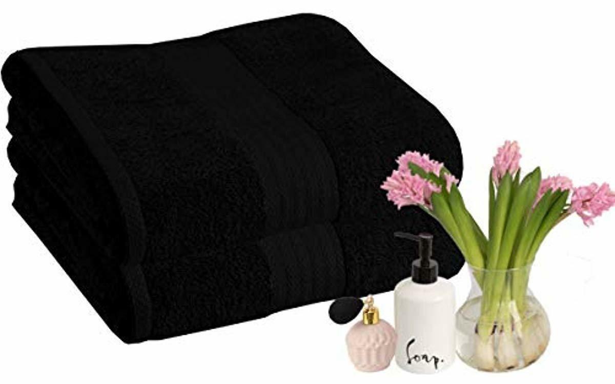 2 set 35x70 oversized soft cotton bath
