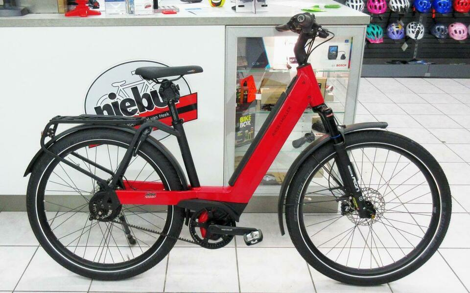 Riese & Müller Nevo GT Vario, 625Wh, 47cm, rot, 210819 in Bocholt