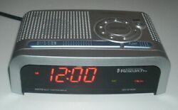 Emerson Research SmartSet Dual Alarm Clock Radio AM FM Digital Model CKS1855