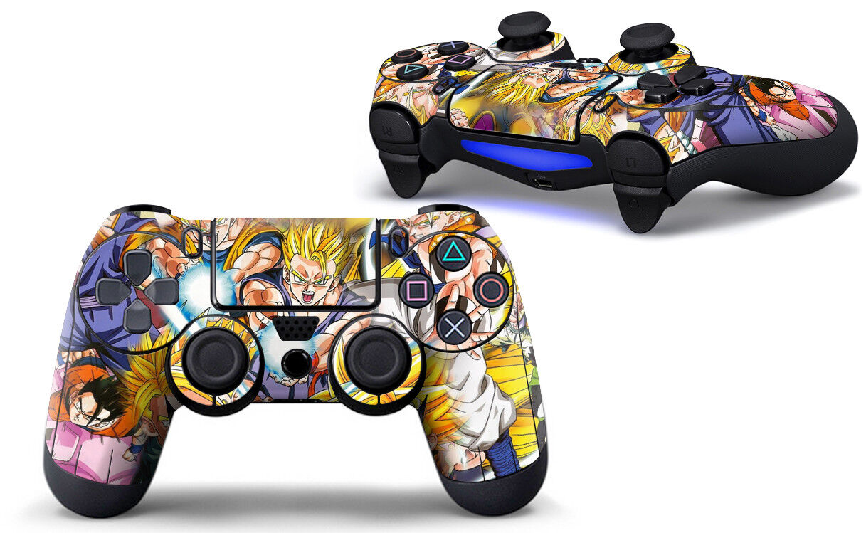 PS4 Controller Skin Dragonball Z Playstation 4 Folie Aufkleber Sticker Vinly DBZ