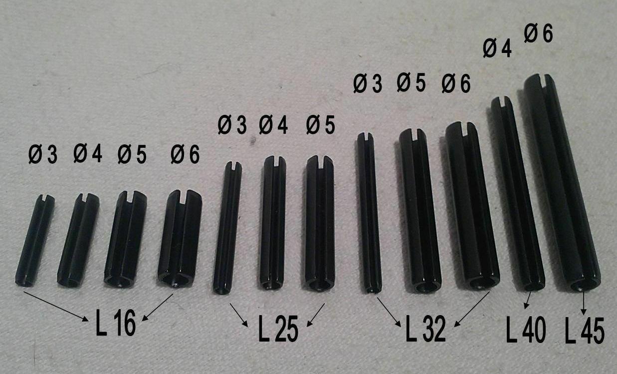 Spannstift ø 3mm L 16mm