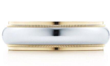 Tiffany & Co Milgrain Ring