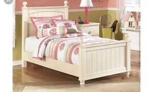 Twin Bed, Nightstand and Chest