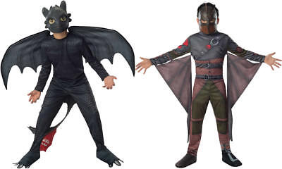 Hicks Ohnezahn Drachen zähmen leicht gemacht 2 Kinder Karneval Kostüm 104-128
