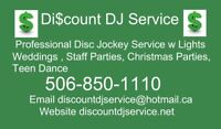 Discount DJ Service Christmas Party Time