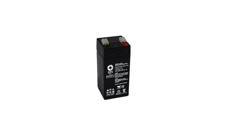 SPS Brand 4V 4.5Ah Replacement battery for Zareba SP44