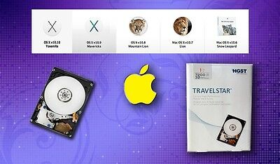 Macbook Pro Hgst Travelstar 1Tb  7200 Rpm  32Mb Cache  Fully Loaded Os X