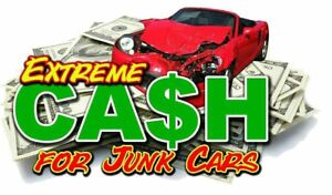 CASH FOR SCRAP CARS 300$ UP TO 1600$ 6472362241