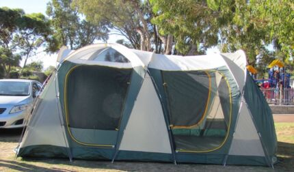 OZTrail tent for sale - deluxe version & Oztrail - sportive peninsula dome tent 12 man | Camping u0026 Hiking ...