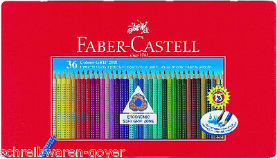 Farbstifte Colour-Grip 2001 36er Metalletui Faber-Castell Farbstift Buntstift