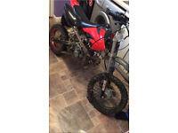 Pit bike 125 not 160 140 110 90 70 50 dirt mini Moto crosser quad nitro rc car